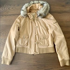 Vintage Abercrombie & Fitch Hooded Jacket Size XL
